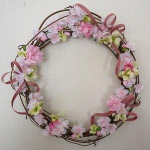 桜のリース