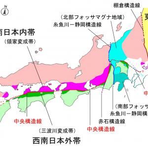 中央構造線