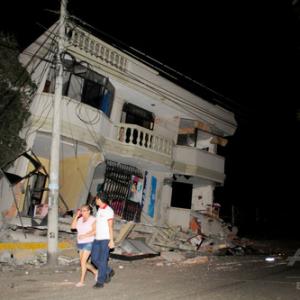 エクアドル 地震