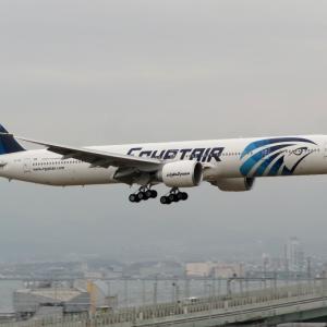 エジプト航空機
