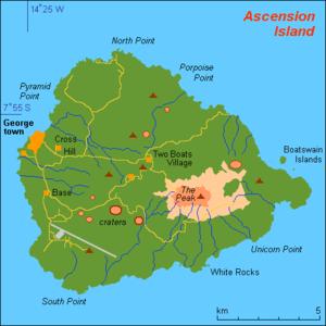 アセンション島