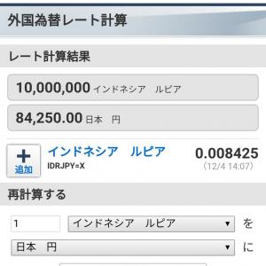 1000万ルピア