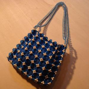 昭和のビーズバッグ