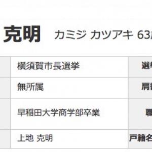 横須賀市長選挙