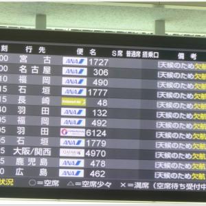 飛行機欠航