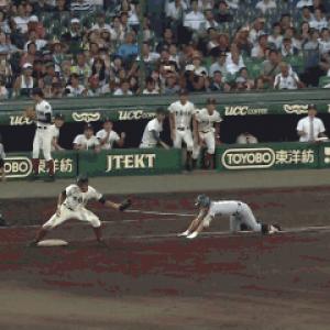 一塁手キック