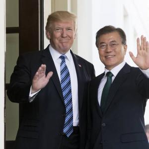 米韓首脳会談